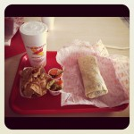 A SoCal essential! #californiaburrito @ Adalbertos Mexican Food