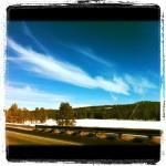Beautiful drive outside of Flagstaff AZ @ Flagstaff AZ