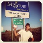 Missouri! @ oklahoma state line