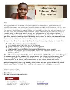 MK Care AMMERMAN endorsement